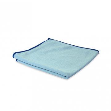 Wecoline Microvezeldoek Glas/Metaal 40x40 cm Blauw