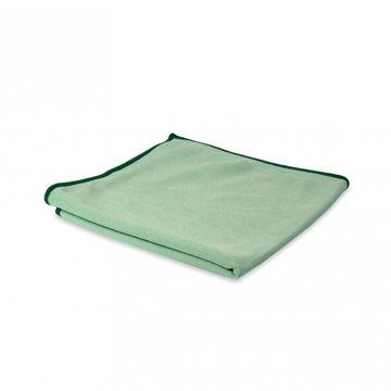Wecoline Microvezeldoek Glas/Metaal 40x40 cm Groen