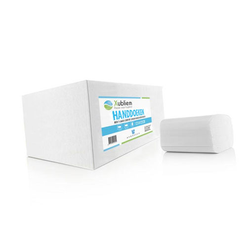Xubliem Handdoek Interfold 3lgs Premium 20x125 stuks