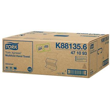 Tork H2 Handdoek Multifold 1lgs Comfort 20x250 stuks