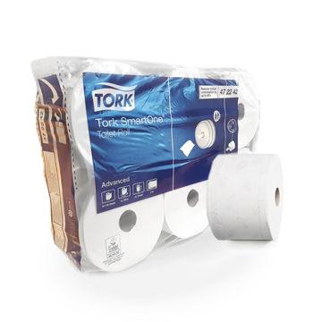 Tork T8 Toiletpapier Smart One 2lgs Comfort 6x1500 vel