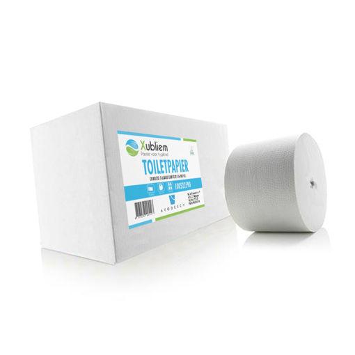 Xubliem Toiletpapier Coreless 2lgs Comfort 36x900 vel