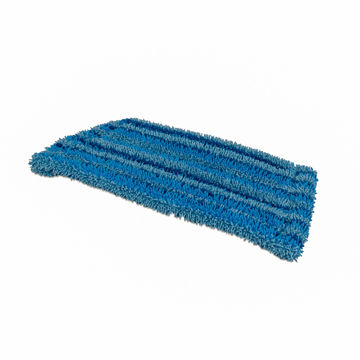 Wecoline Interieur Vlakmop Microvezel Scrub Blauw 28 cm