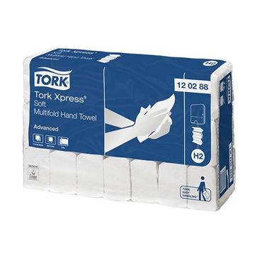 Tork H2 Handdoek Multifold 2lgs Comfort 21x136 stuks