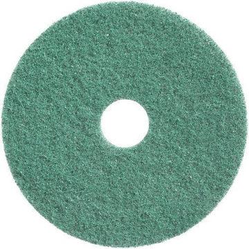 """Afbeelding van Bright en Water Cleaning Pad 11""""/28 cm Groen 2 stuks"""