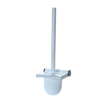 Tiger Toiletborstel Kunststof Wit met Garnituur Wit
