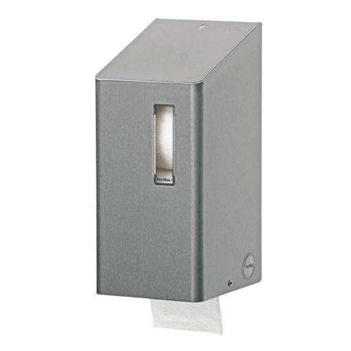 Afbeelding van Santral Toiletpapier Traditioneel Dispenser RVS