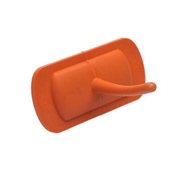 Afbeelding van Salmon Kunststof Haak voor Rail 500/900 Oranje