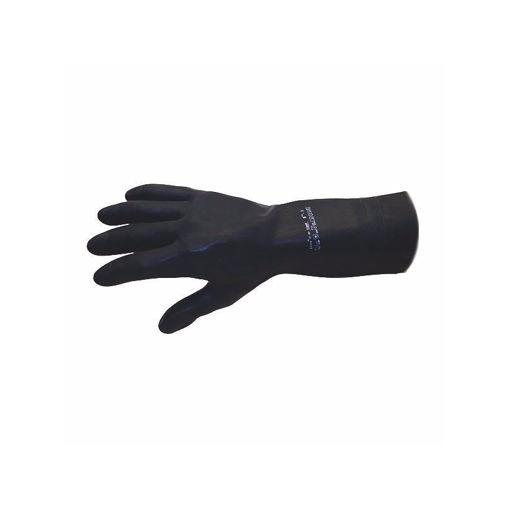 Handschoen Edmont maat L Zwart