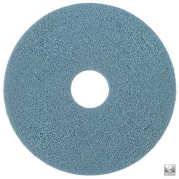 """Afbeelding van Bright en Water Cleaning Pad 15""""/38,1 cm HT Blauw 2 stuks"""