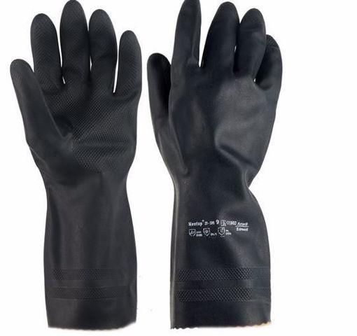 Handschoen Edmont maat XL Zwart