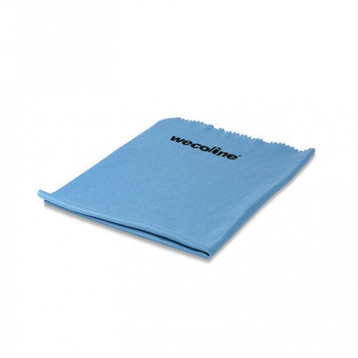Wecoline Microvezeldoek Glas/Metaal 40x50 cm Blauw