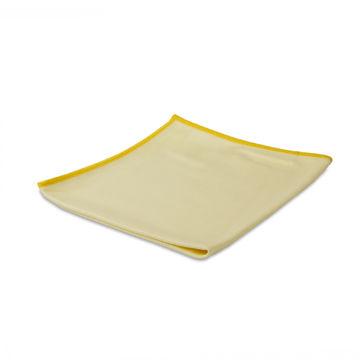 Wecoline Microvezeldoek Glas/Metaal 40x40 cm Geel
