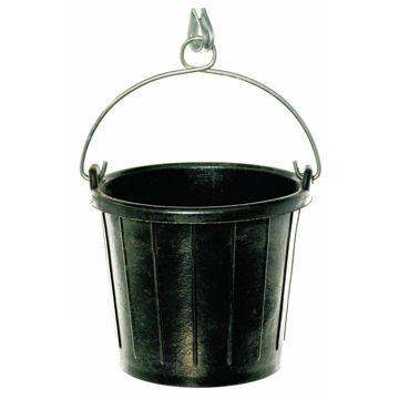 Emmer Rubber 8 ltr Zwart