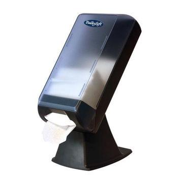Afbeelding van Dispenser Servetten Staand Model Grijs/transparant