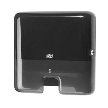 Tork H2 Handdoek Multifold Mini Dispenser Zwart