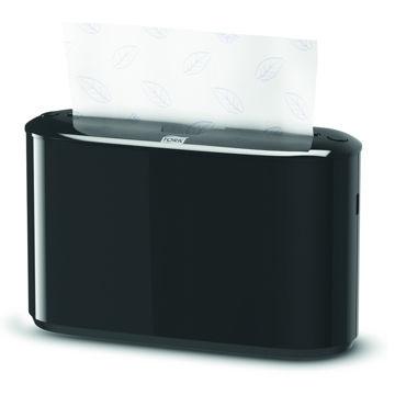 Tork H2 Handdoek Multifold Countertop Dispenser Zwart