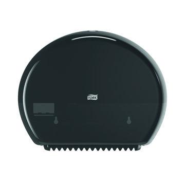 Afbeelding van Tork T2 Toiletpapier Mini Jumbo Dispenser Zwart