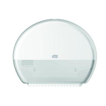Afbeelding van Tork T2 Toiletpapier Mini Jumbo Dispenser Wit