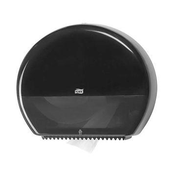 Afbeelding van Tork T1 Toiletpapier Maxi Jumbo Dispenser Zwart