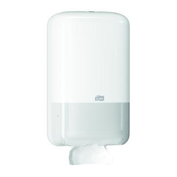 Afbeelding van Tork T3 Toiletpapier Bulkpack Dispenser Wit