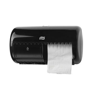 Afbeelding van Tork T4 Toiletpapier Traditioneel Dispenser Zwart
