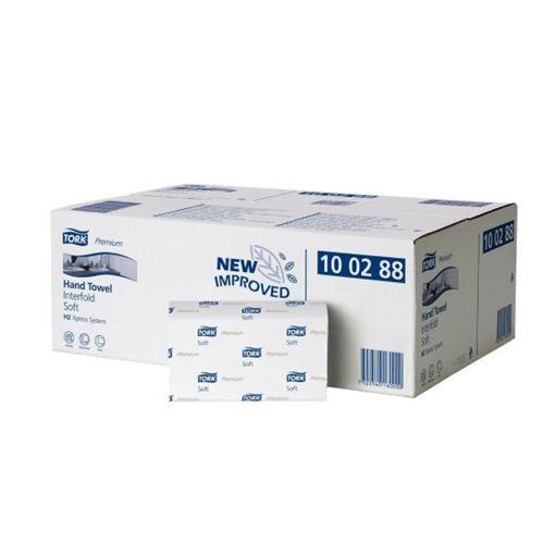 Tork H2 Handdoek Multifold 2lgs Premium 21x110 stuks