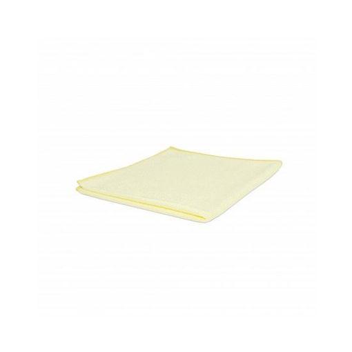 Microvezeldoek 50 gram 40x40 cm Geel 10 stuks