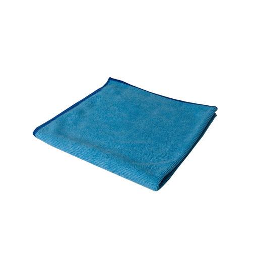 Microvezeldoek 55 gram 40x40 cm Blauw 10 stuks
