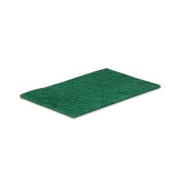 Afbeelding van Schuurlap 15x23cm Groen 10 stuks