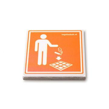 Afbeelding van Clean Cube Icoon Tegel voor Tegelasbak
