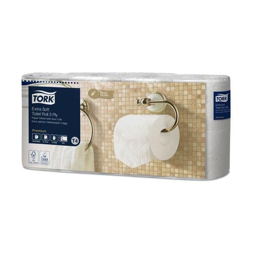 Tork T4 Toiletpapier Traditioneel 3lgs Premium 42x170 vel