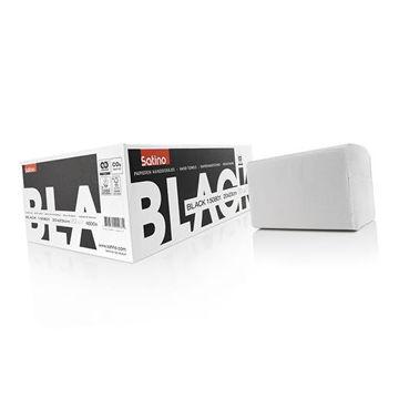 Satino Black Handdoek Z-vouw 1lgs Premium 18x255 stuks