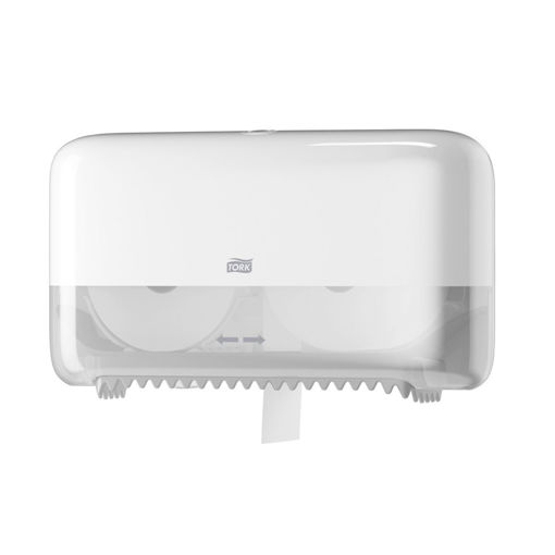 Tork T7 Twin Coreless Mid-Size Toiletrol Dispenser