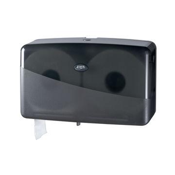 Pearl Black Jumbo Duo Toiletrol Dispenser Mini