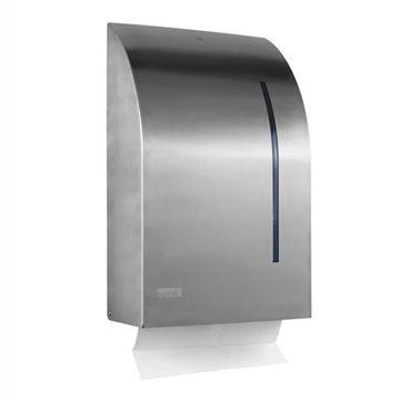 Satino Handdoek Z-vouw Dispenser RVS