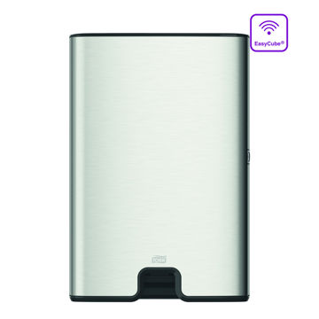 Tork H2 Handdoek Multifold Dispenser RVS/Zwart