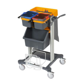 Afbeelding van Diversey Taski Werkwagen Jonmaster Mini open