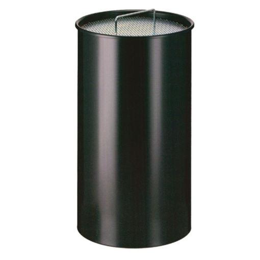 Afbeelding van Asbak Staal 50 ltr Zwart