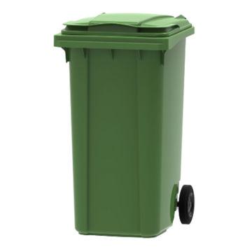 Afvalcontainer Kunststof Klep 240 ltr Groen