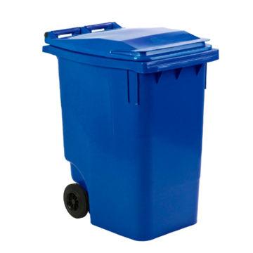 Afvalcontainer Kunststof Klep 360 ltr Blauw
