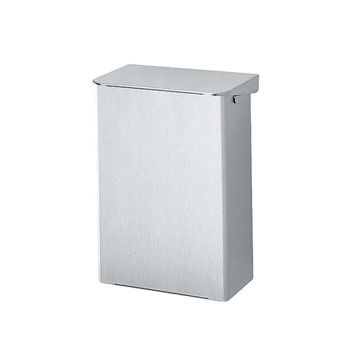 Ingo-Man Afvalbak Aluminium Klep 15 ltr