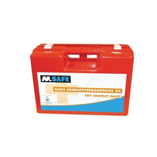 M-Safe EHBO Verbandkoffer Basis BHV Compact HACCP