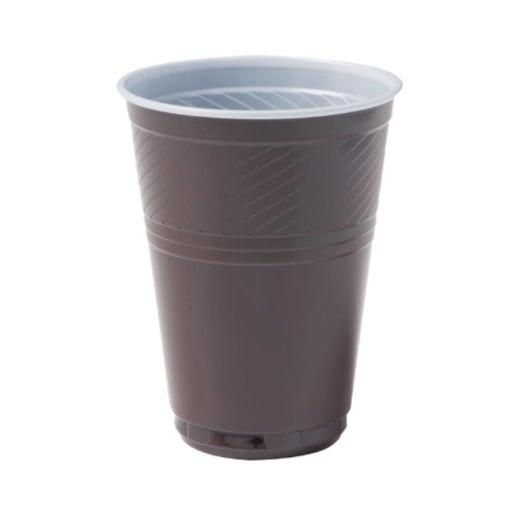 Beker Plastic 180 ml Bruin 3000 stuks