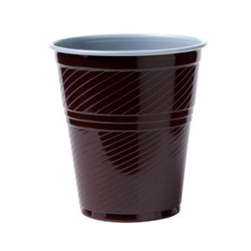 Beker Plastic 150 ml Bruin 3000 stuks