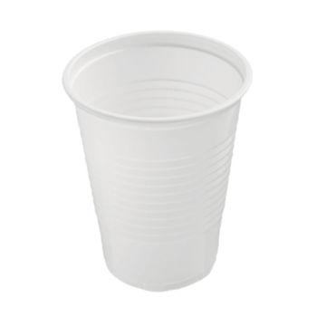 Beker Plastic 180 Ml Wit 3000 Stuks