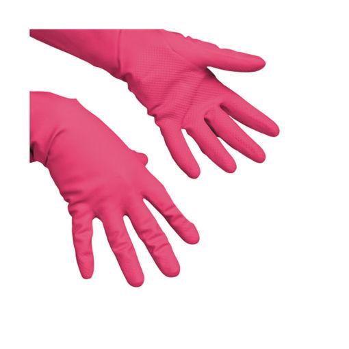 Afbeelding van Vileda Multipurpose Handschoen Maat L Rood