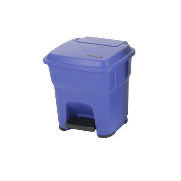 Vileda Hera Pedaalemmer Kunststof Pedaal 35 ltr Blauw
