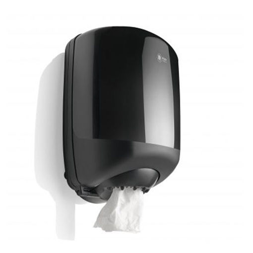 Black Satino CF40 Poetsrol Dispenser Midi
