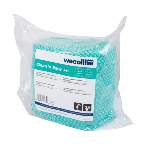 Wecoline Clean 'n Easy Alcohol Hygiëne Navulling 3x150 stuks